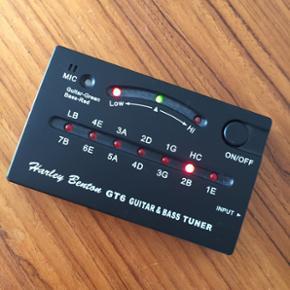 Guitar stemmer (kan også benyttes til b - Nykøbing M - Guitar stemmer (kan også benyttes til bas), fejler intet aldrig brugt. - Nykøbing M