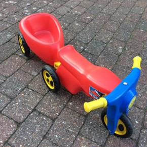 Scooter med vogn - meget god stand - Esbjerg - Scooter med vogn - meget god stand - Esbjerg