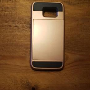Samsung galaxy s7 edge cover med plads t - Odense - Samsung galaxy s7 edge cover med plads til 3 kort i skjuler på bagsiden - Odense