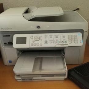 Printer sælges billigt. HP photosmart p - Aalborg  - Printer sælges billigt. HP photosmart premium. Blækprinter med multifunktion (scanner og print). Indbygget WiFi. Afhentes i Vejgaard. Giv et bud. - Aalborg