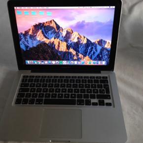 """MacBook Pro 13"""" Processor: 2,5 GHz Intel - Aalborg  - MacBook Pro 13"""" Processor: 2,5 GHz Intel Core i5 Hukommelse: 4GB 1600 MHz DDR3 Grafik: Intel HD graphics 4000 1536 MB Harddisk: 500GB Model: 2012 (Købt november 2014) Æske og lader medfølger. - Aalborg"""