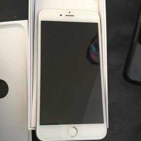 IPhone 6 plus , 16 GB , lade og headset  - Esbjerg - IPhone 6 plus , 16 GB , lade og headset med följe , kvittering haves - Esbjerg