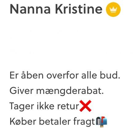 Nanna Kristine