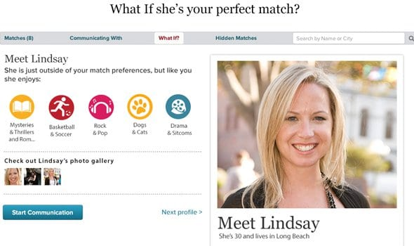 eharmony review A tedious sign-up makes for a happy marriage