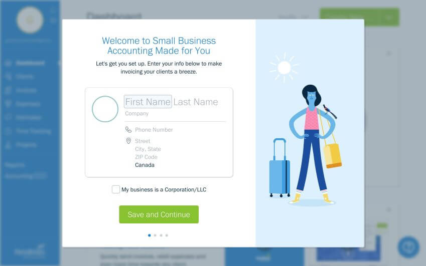 Freshbooks  Support Request