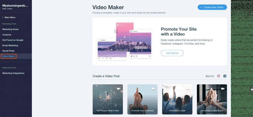 wix-video-maker