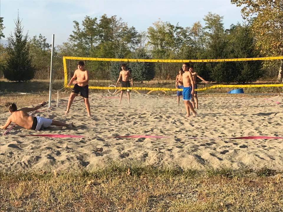 Beach volley propark