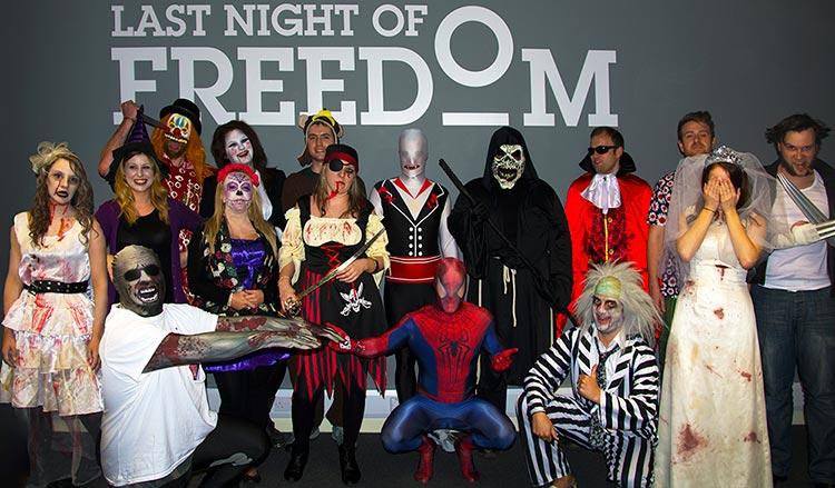 The Last Night of Freedom team