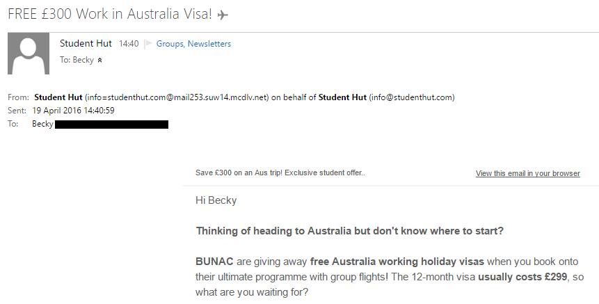 Australia Email