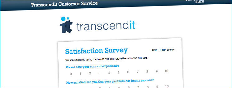 Customersure Survey