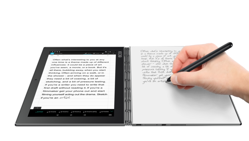 Lenovo Yoga Book Tablet Laptop Sketchpad And Notebook