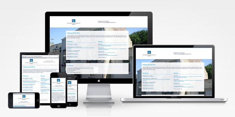 Responsive Website Design Hodgsoncoulthard