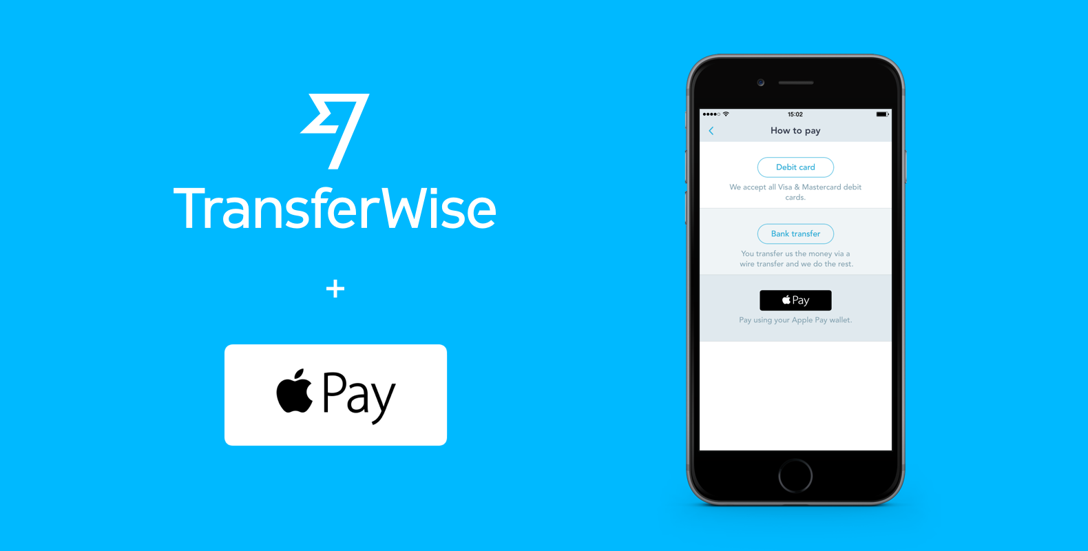 TransferWise now supports Apple Pay - TransferWise