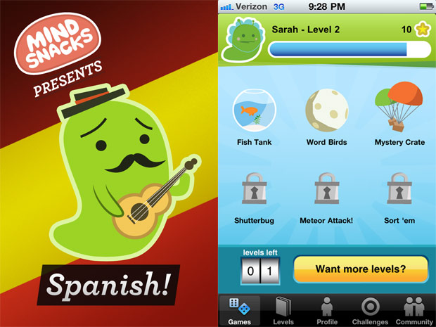 Endless Spanish - Best App For Kids - iPhone/iPad/iPod ...
