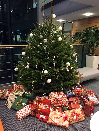 Joulupuu-keräys 2017