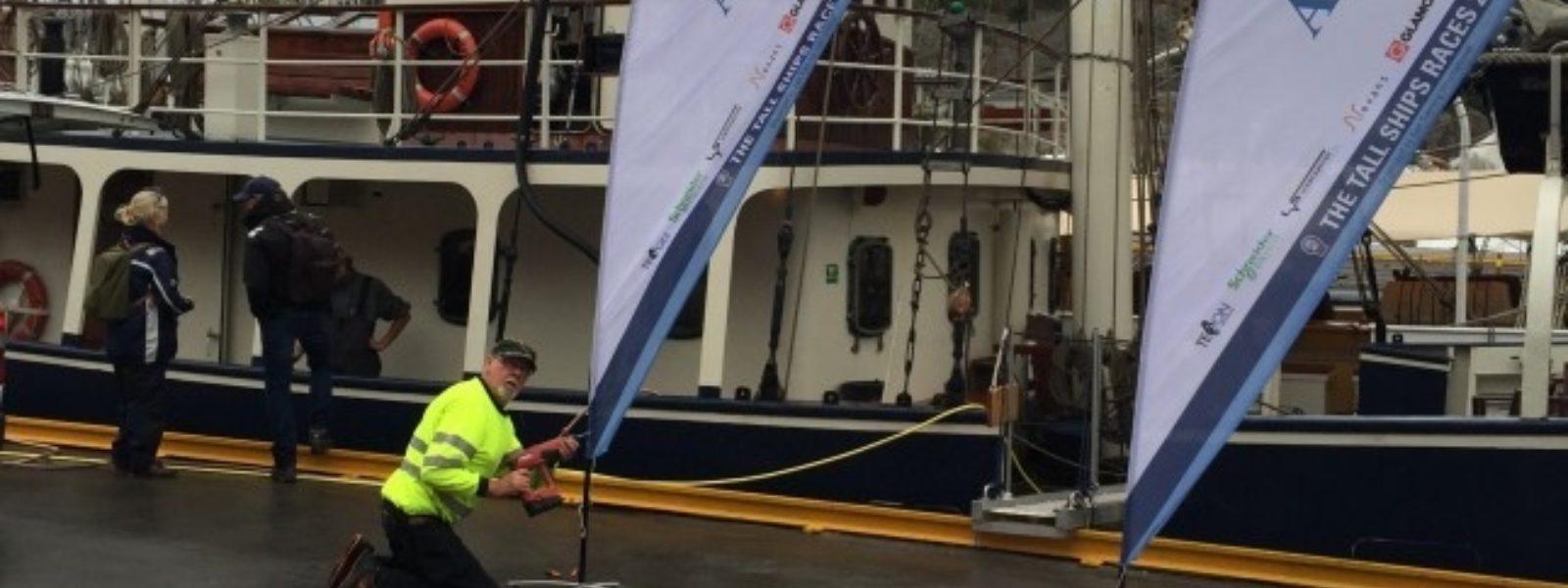 Elektrisk til Tall Ships Races 2015