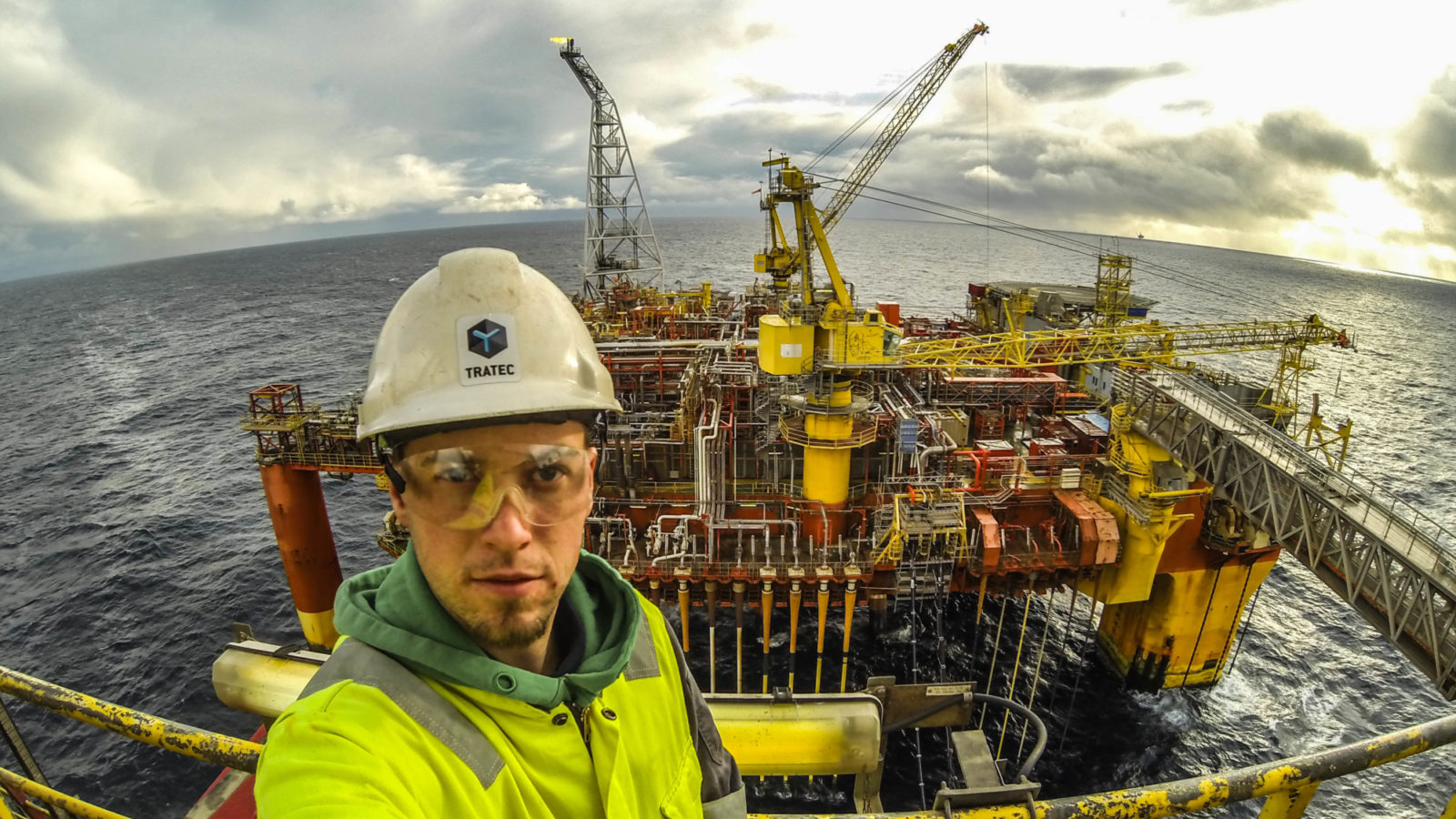 ESD control system for Transocean Searcher