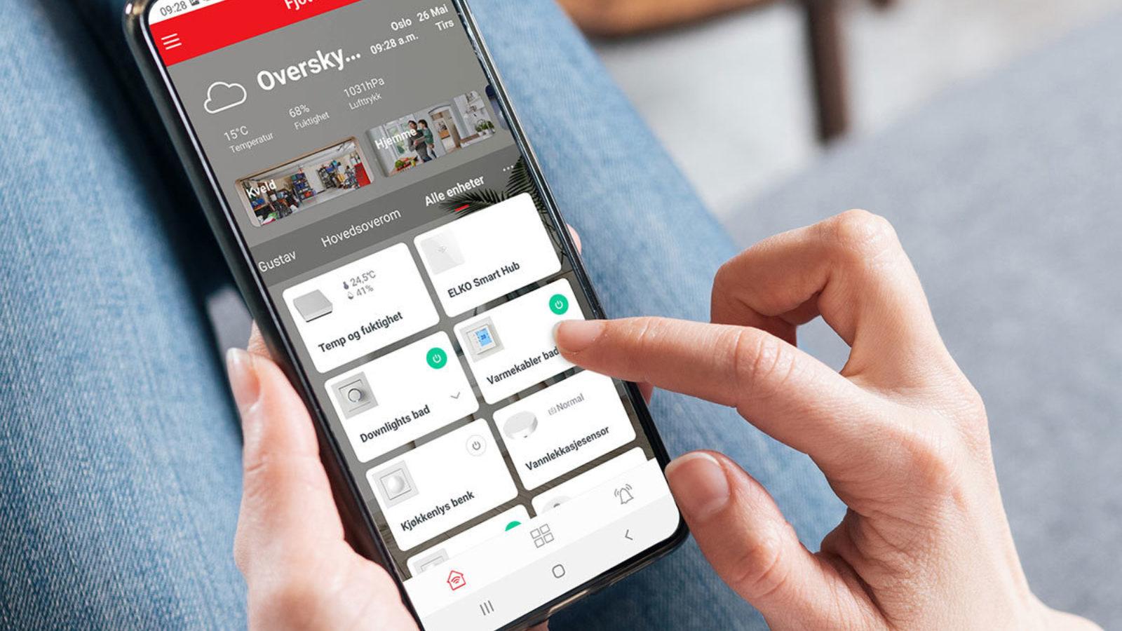 ELKO Smarthjem - enkelt, trygt og fleksibelt