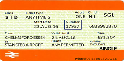 Ticket Number Guidance