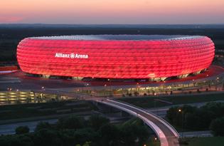 Fußball erleben in der FC Bayern Erlebniswelt in der Allianz Arena