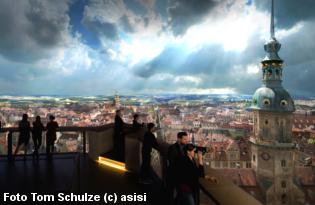 Dresden im Barock - Die Vergangenheit in Asisis 360°-Panorama erleben