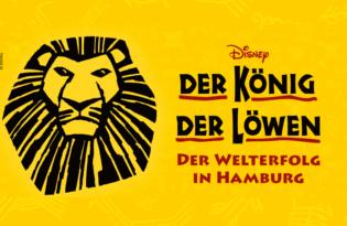 Disneys DER KÖNIG DER LÖWEN - Einzigartiges Musical-Highlight in Hamburg