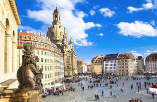 Höchster Komfort direkt an der Frauenkirche in Dresden