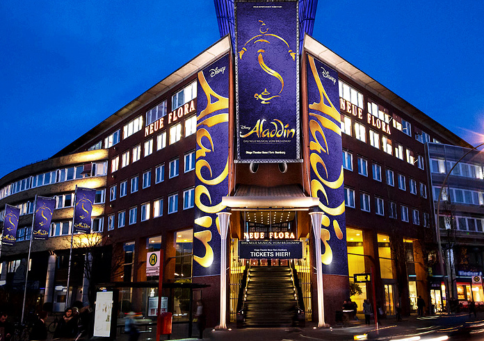 Musical Hamburg Aladin Mit Hotel