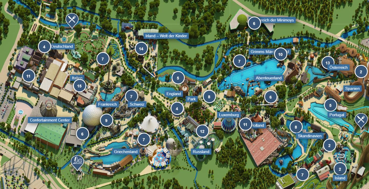 Europapark Themenbereiche Karte.Spass Fur Die Ganze Familie In Deutschlands Grosstem Freizeitpark Europa Park Mit Ubernachtung Im 4 Hotel In Der Region