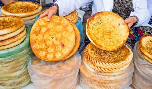 Traditional Flatbreads - Uzbekistan