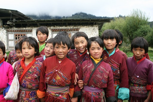 Bhutanese Children