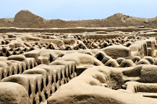 Chan chan ruins Peru