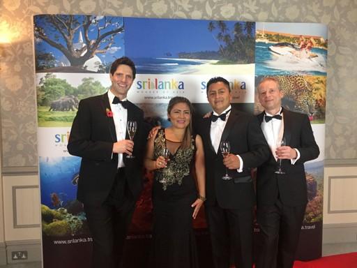 Mandari Panga of Ecuador at the British Guild of Travel Writers Awards