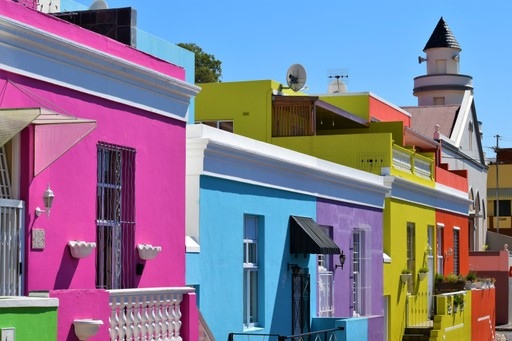 Colourful streets of Bo Kaap, Cape Town