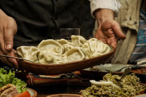 Georgian dumplings - khinkali