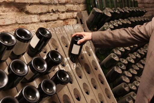 Wine cellar in Georgia, Europe