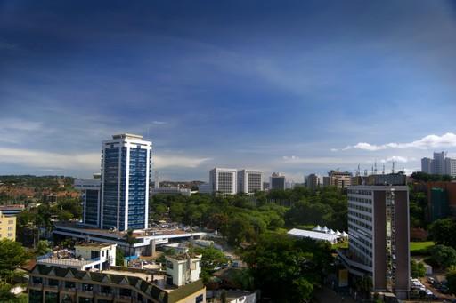 Skyscrapers in Kampala, Uganda