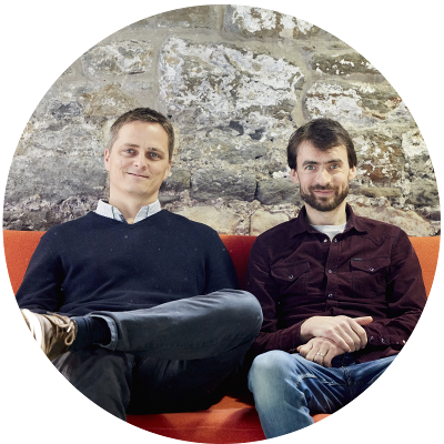 Tom & Huw, TravelLocal founders
