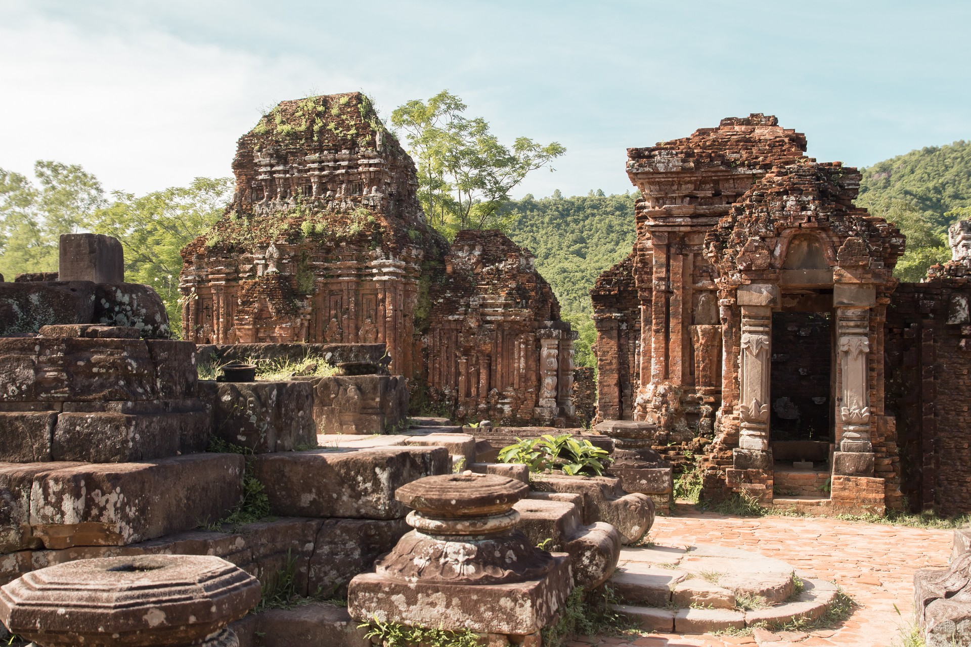 My Son temples built by Champa kings of Vietnam
