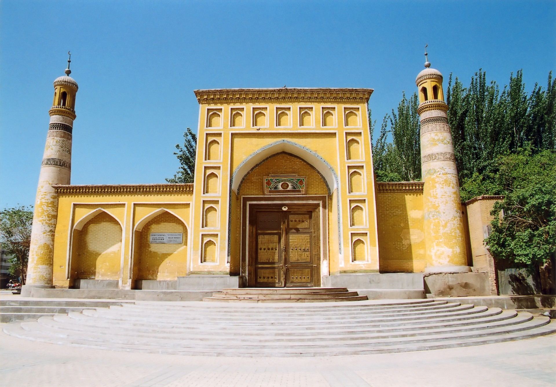 Id Kah Mosque in Kashgar, China