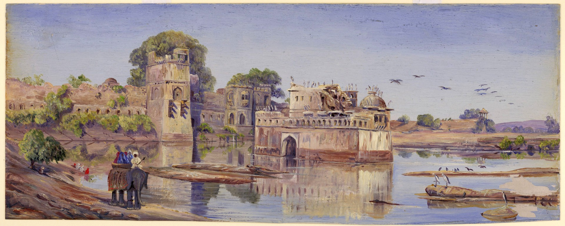 Marianne North painting of India