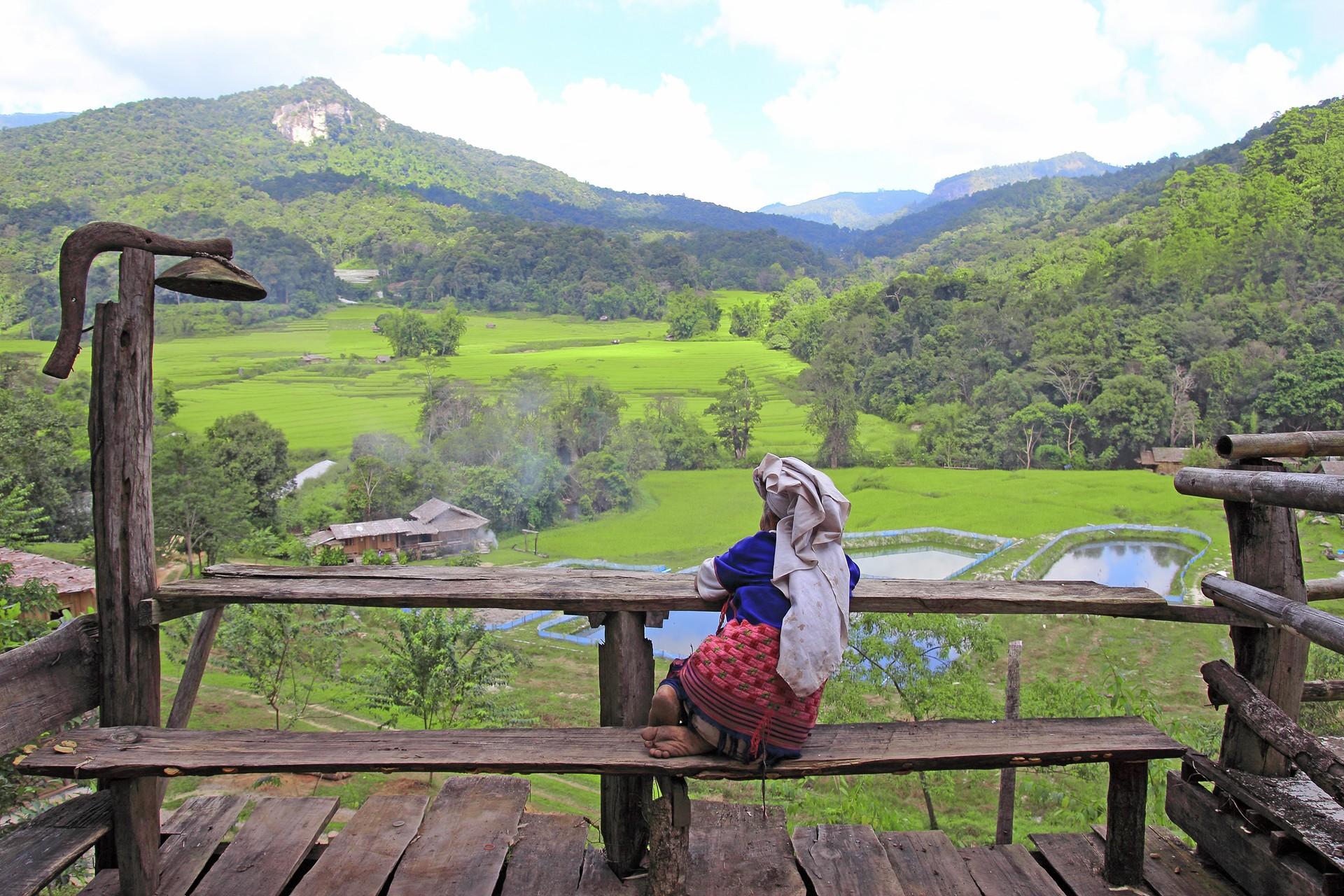 Local woman in Luang Nam Tha, Laos