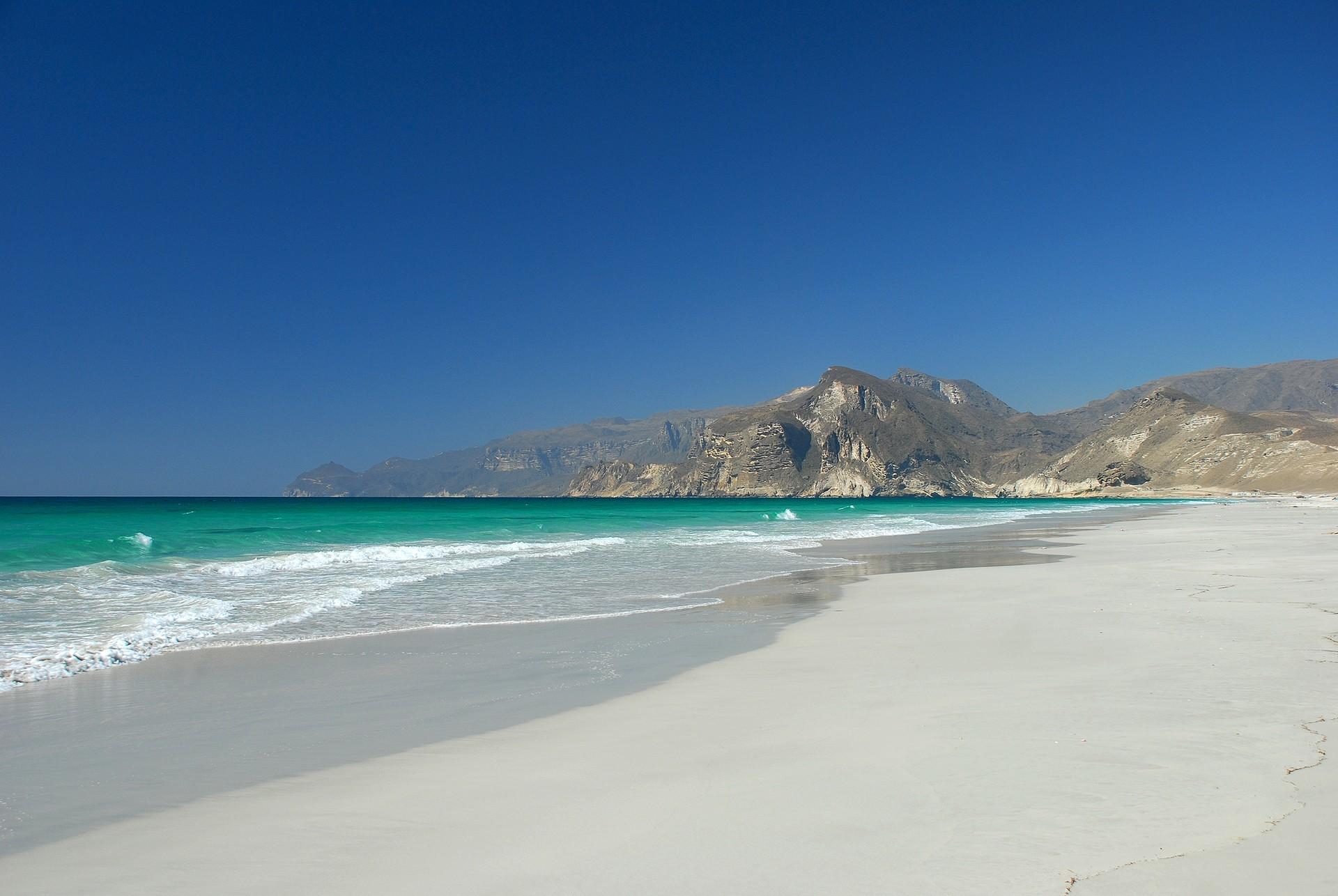 Mughsail Beach in Oman
