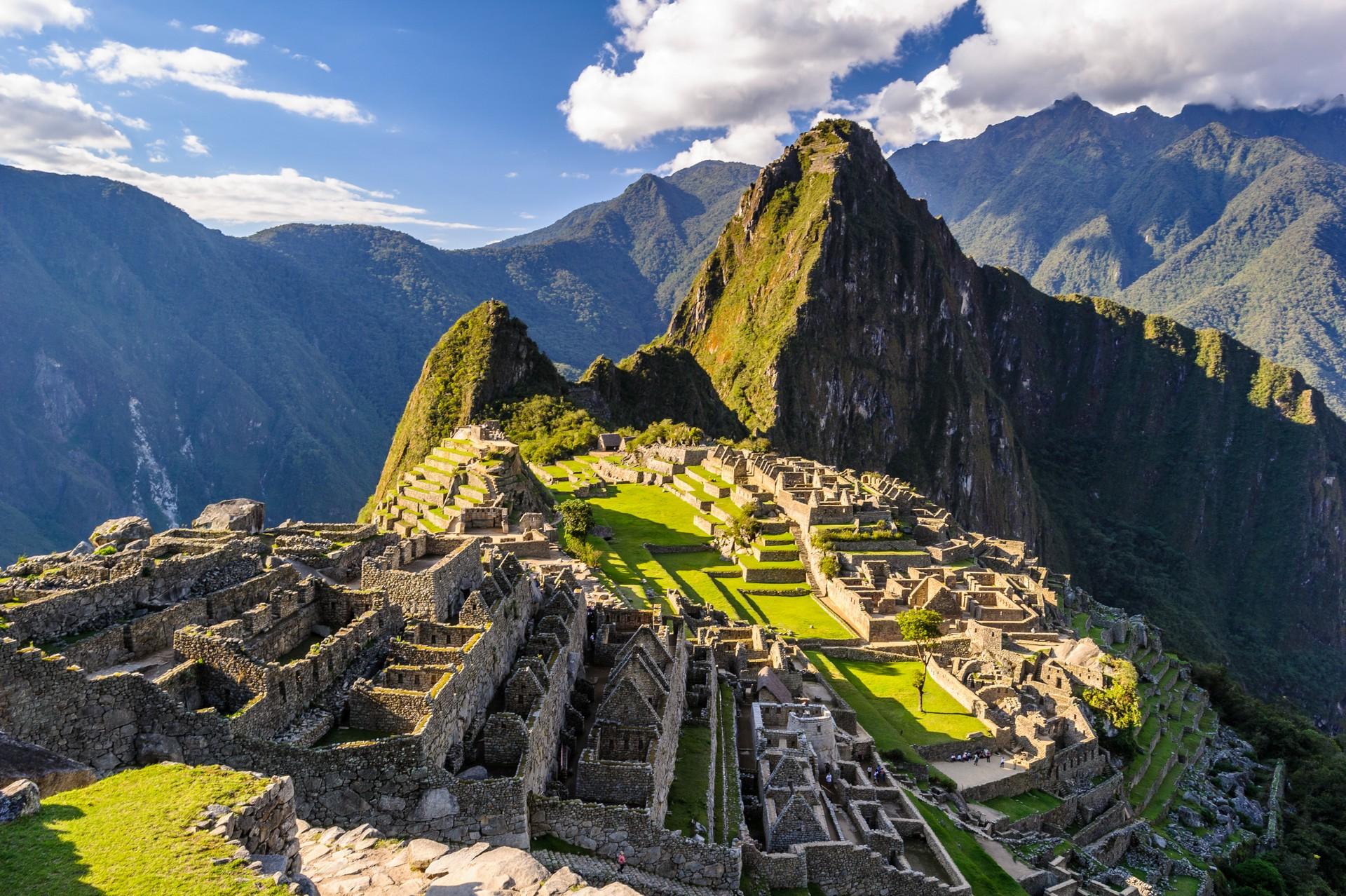 UNESCO site of Machu Picchu in Peru