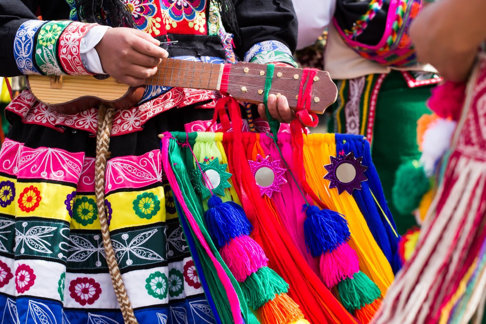 Guitar Inti Raymi Festival Cusco