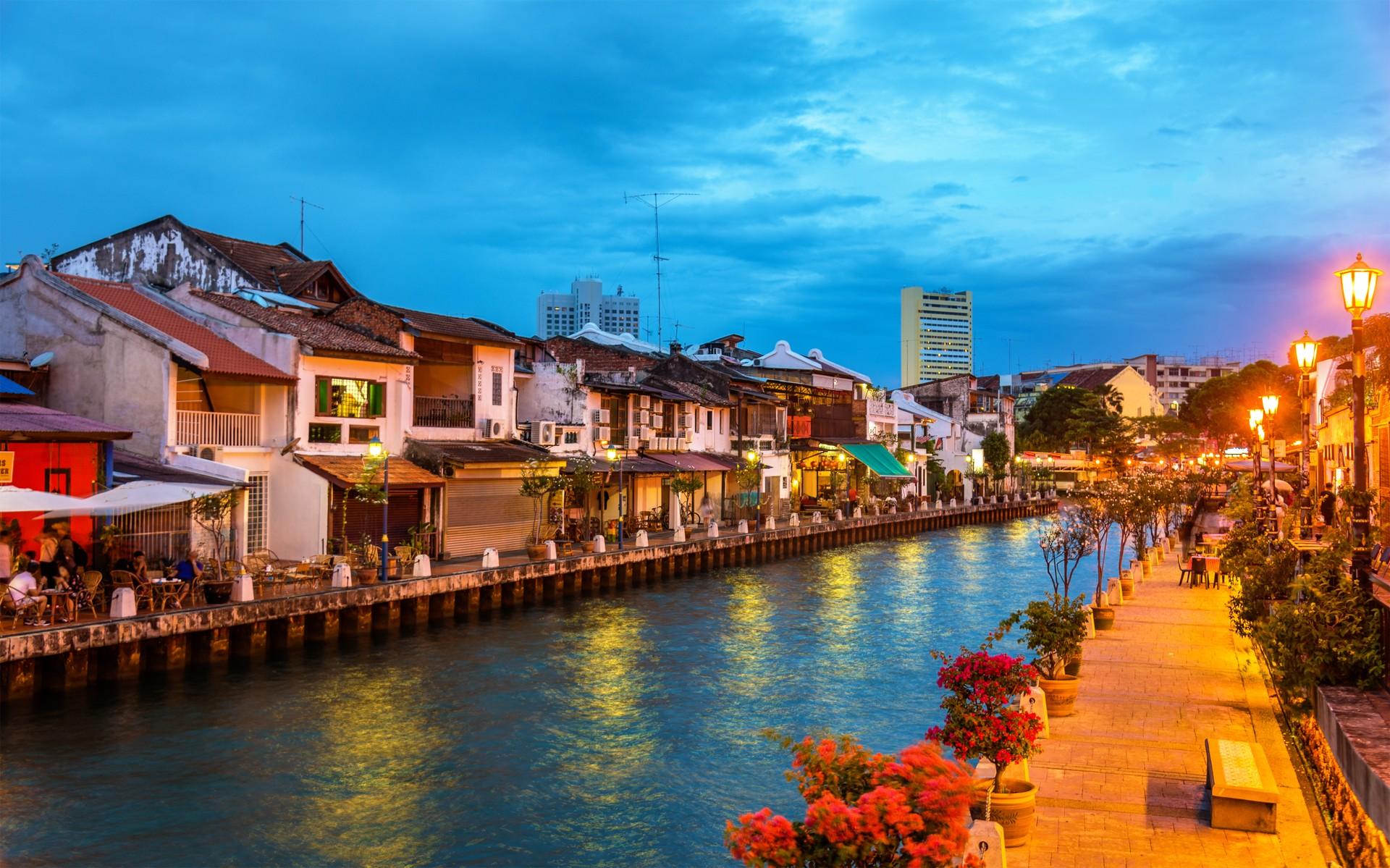 Old town of Malacca, Malaysia