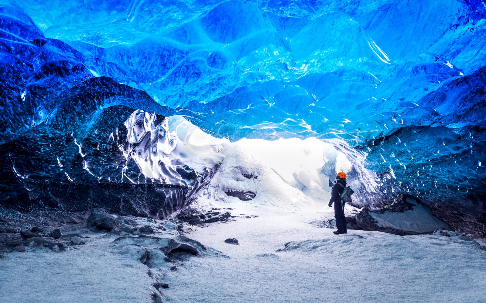 Ice caves of Skaftafellsjökull