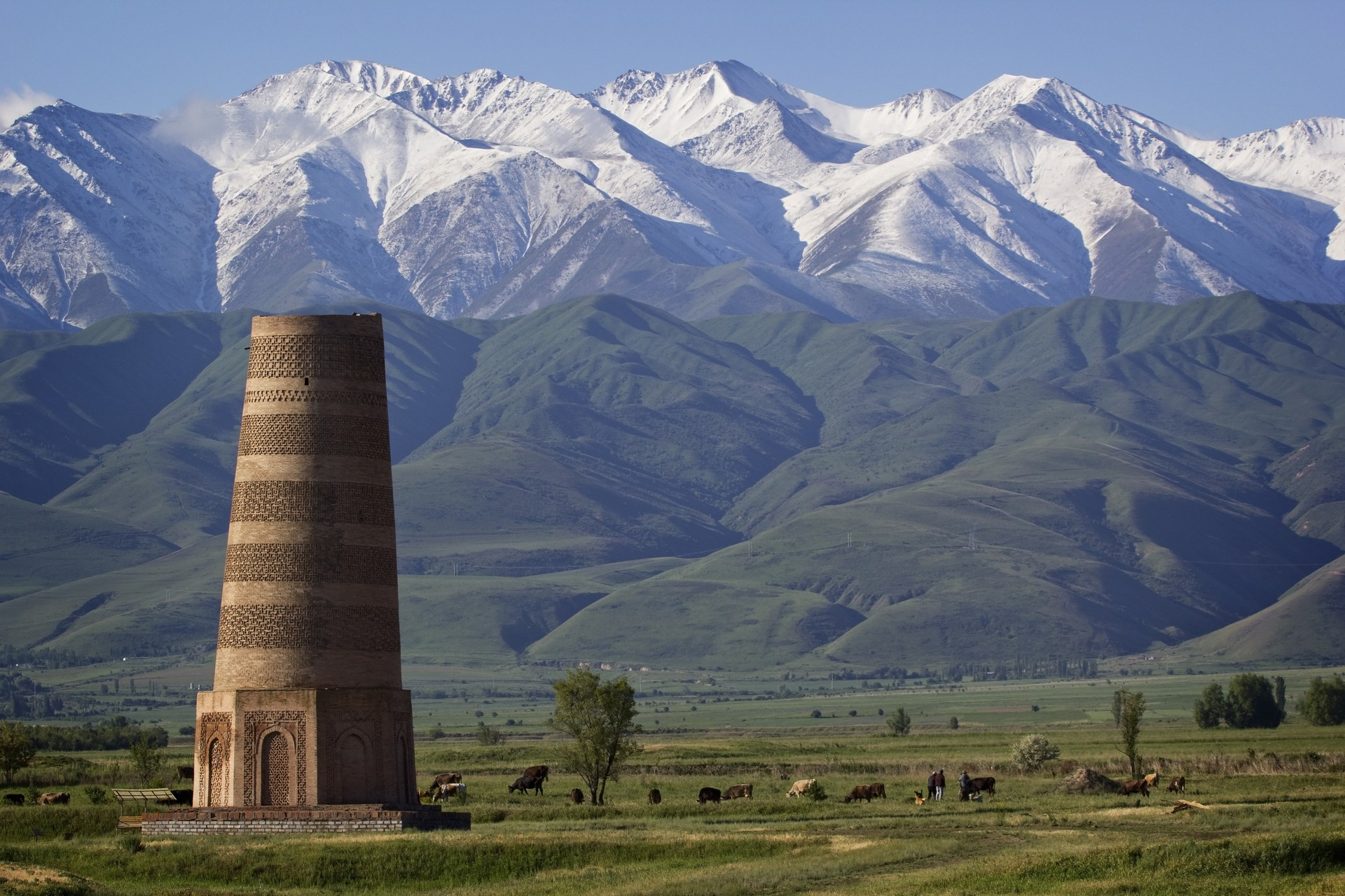 Burana Tower on the Silk Route