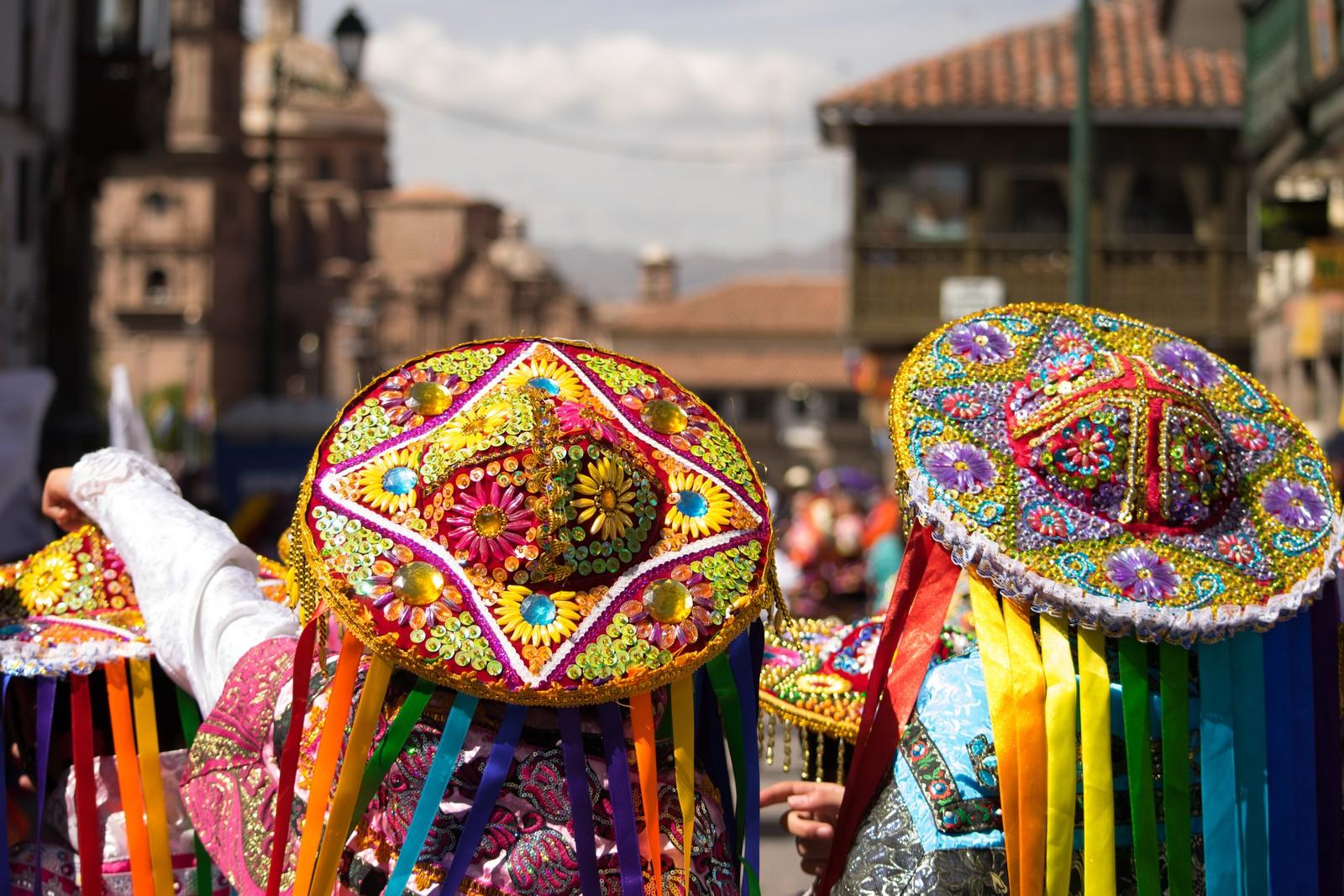 Street festival Cusco Inti Raymi