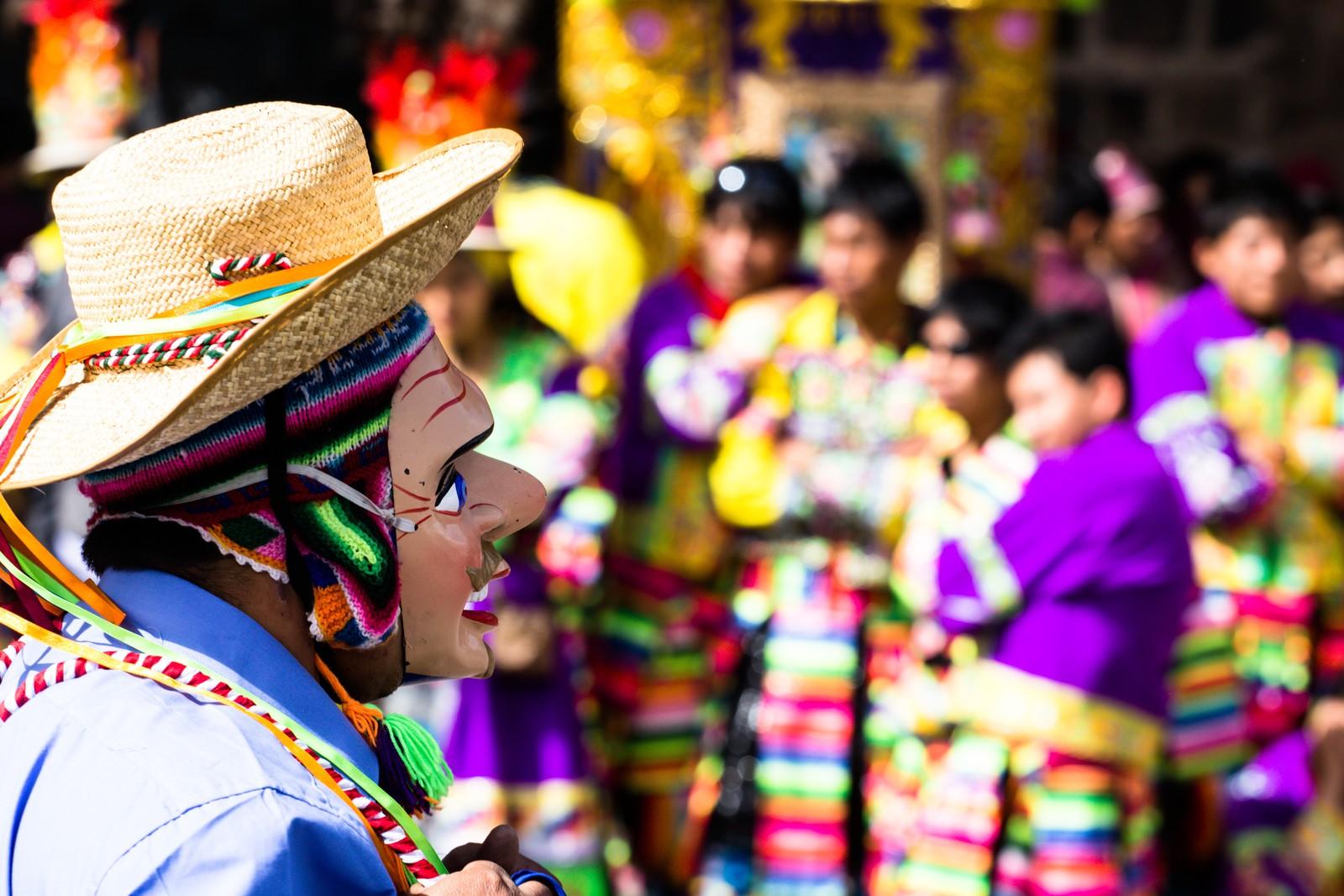 Mask Cusco Inti Raymi Festival